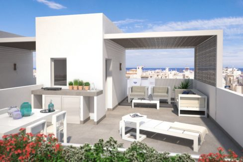 Attached Duplex For Sale with 2 and 3 Bedrooms with Wonderful Sea Views (20)