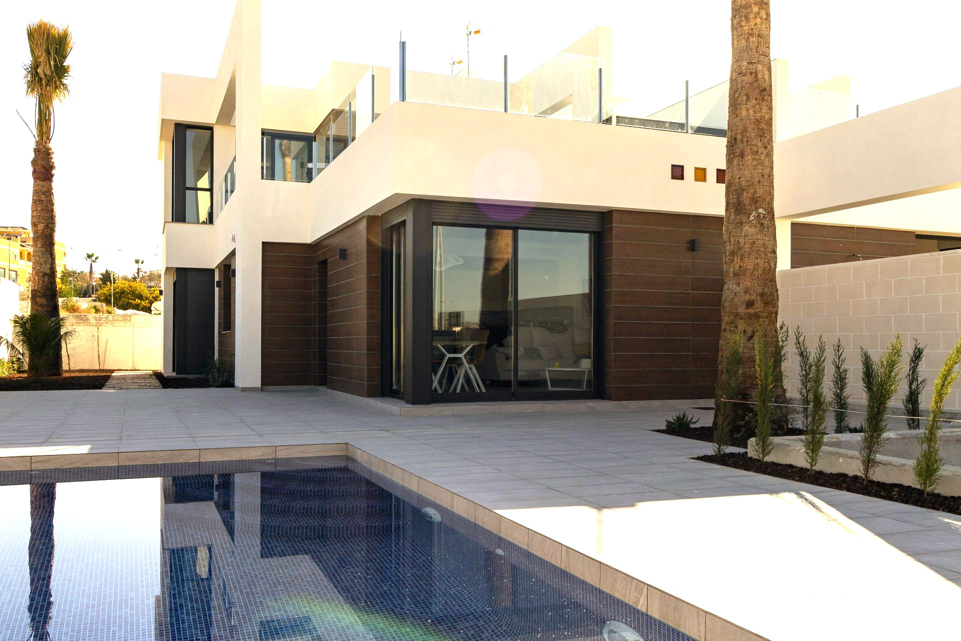Villas with 3 bedrooms and private pool in Benifójar
