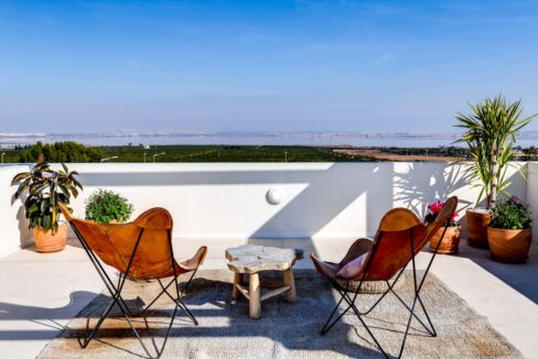 Properties with garden,terrace and solarium in Torrevieja (81)