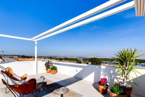 Properties with garden,terrace and solarium in Torrevieja (83)