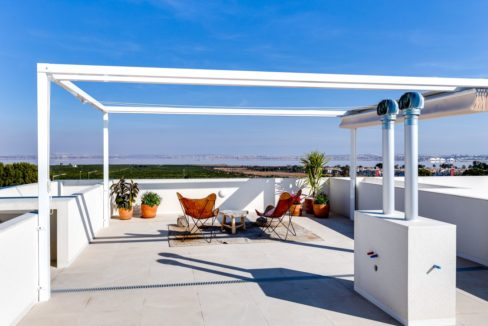 Properties with garden,terrace and solarium in Torrevieja (87)
