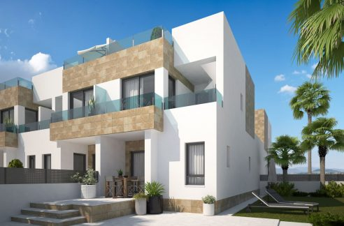 Villa in Orihuela Costa with 3 bedrooms, solarium and terrace