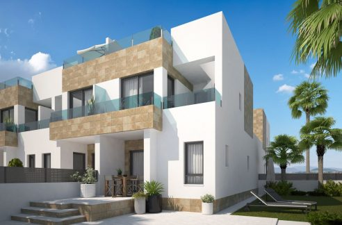 Villa with 2 or 3 bedrooms and semi-basement in Bigastro