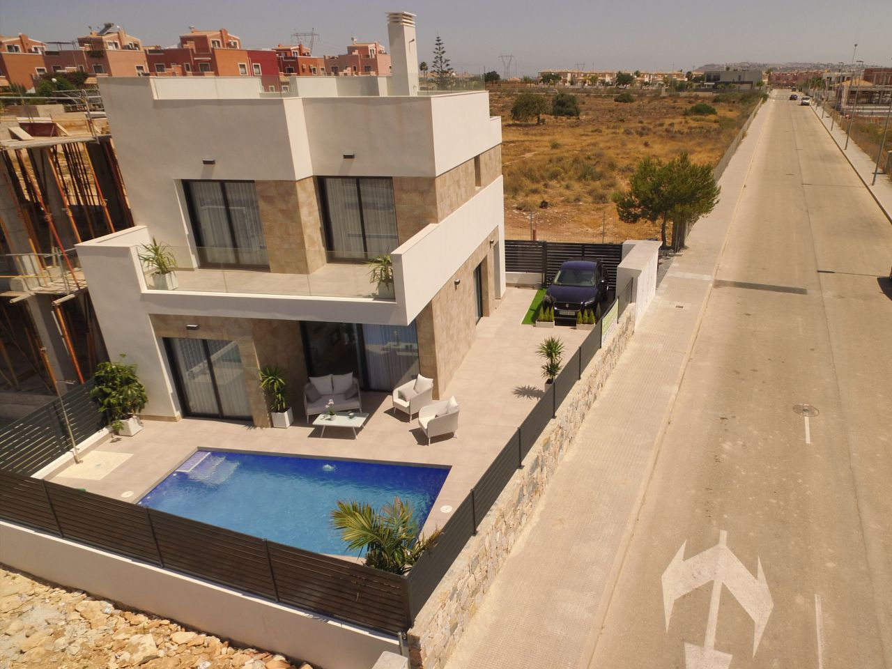 Villas with 3 bedrooms and swimming pool in Los Montesinos