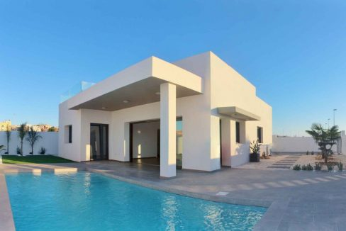 Villa with 3 bedrooms and swimming pool in benijofar