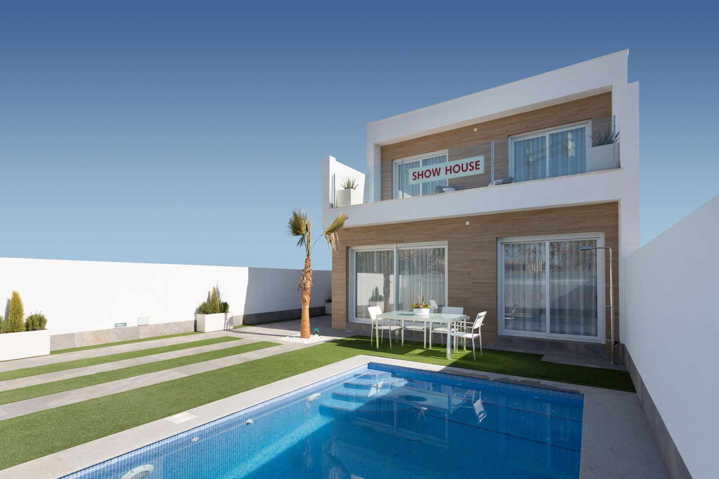 Villas 3 Bedrooms with Swimming Pool in San Pedro del Pinatar
