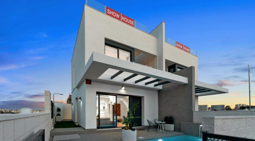 Villas with 3 bedrooms, swimming pool and solarium in San Miguel (28)