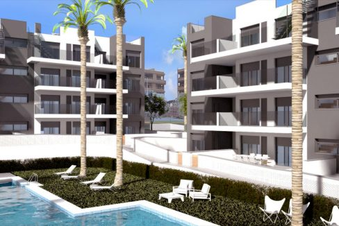 2 Bedrooms Apartment For Sale in Villamartin - New Built