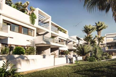 2 Bedrooms New Build Bungalows For Sale in Los Altos Torrevieja (13)