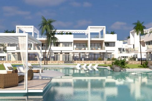 2 Bedrooms New Build Bungalows For Sale in Los Altos Torrevieja (7)