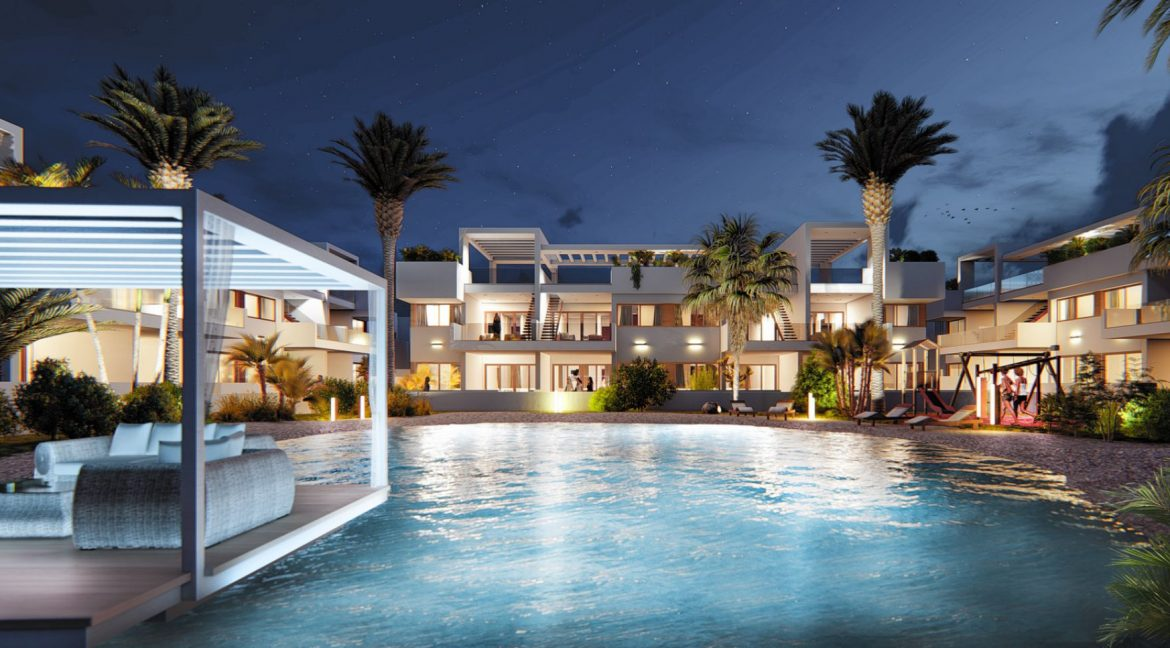 2 Bedrooms New Build Bungalows For Sale in Los Altos Torrevieja (8)