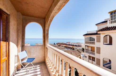 3 Bedrooms Apartment With Sea Views in Cabo Cervera For Sale (