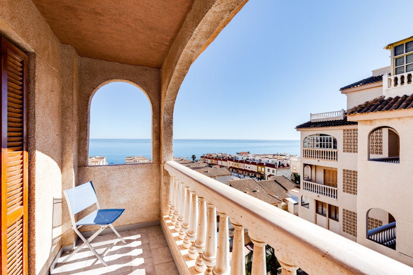 3 Bedrooms Apartment For Sale with Sea Views in Cabo Cervera Near the Beach