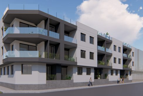 3 and 4 Bedrooms Apartments with Private Solarium For Sale in Bigastro