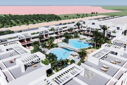 Luxury 2 And 3 Bedrooms Bungalows In Torrevieja With Swimming Pool (1)
