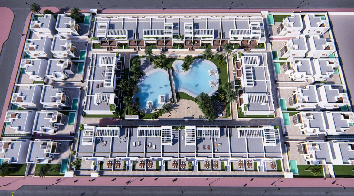 Luxury 2 And 3 Bedrooms Bungalows In Torrevieja With Swimming Pool (15)