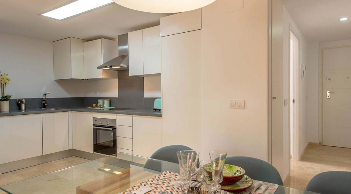 new build 2 and 3 bedrooms apartments for sale in Punta Prima La Recoleta (13)