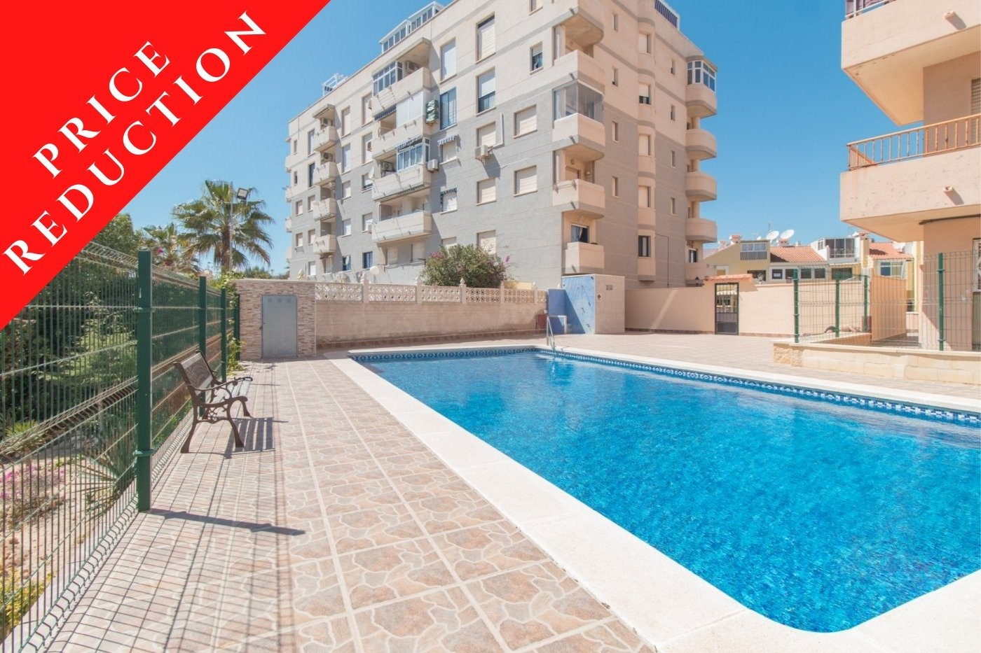 1 Bedroom Apartment For Sale with Swimming Pool in La Mata