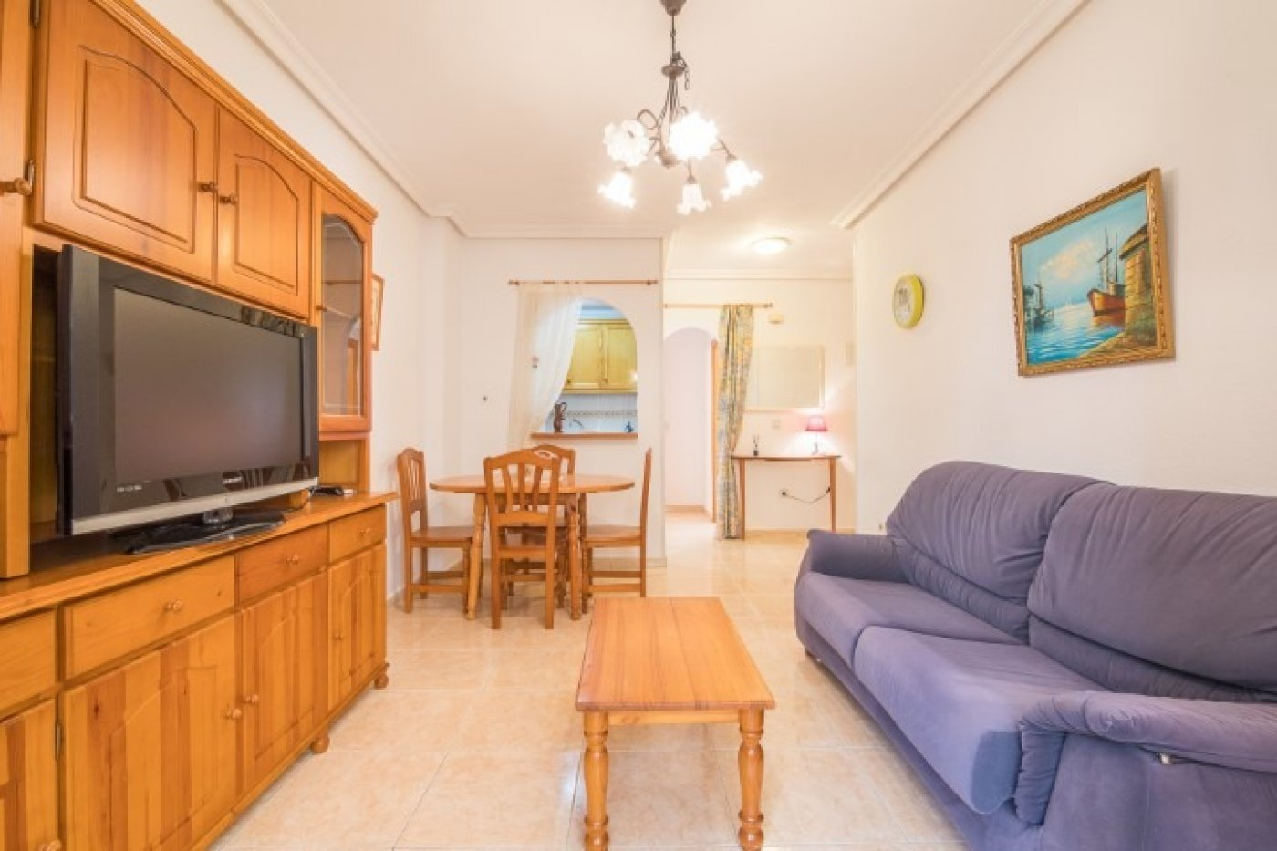 1 Bedroom Apartment For Sale In Torrevieja Near Los Locos Beach