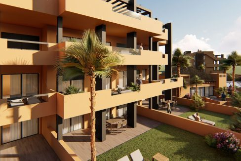 2 Bedrooms Apartments in Orihuela Costa with Private Garden or Solarium (10)