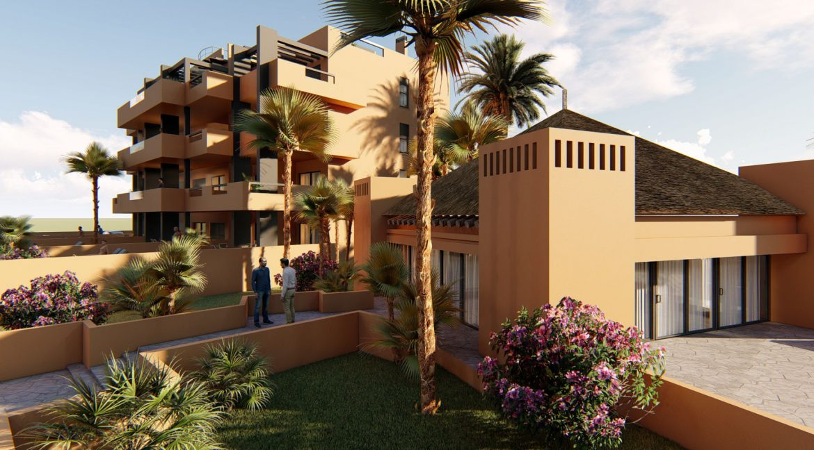 2 Bedrooms Apartments in Orihuela Costa with Private Garden or Solarium (12)