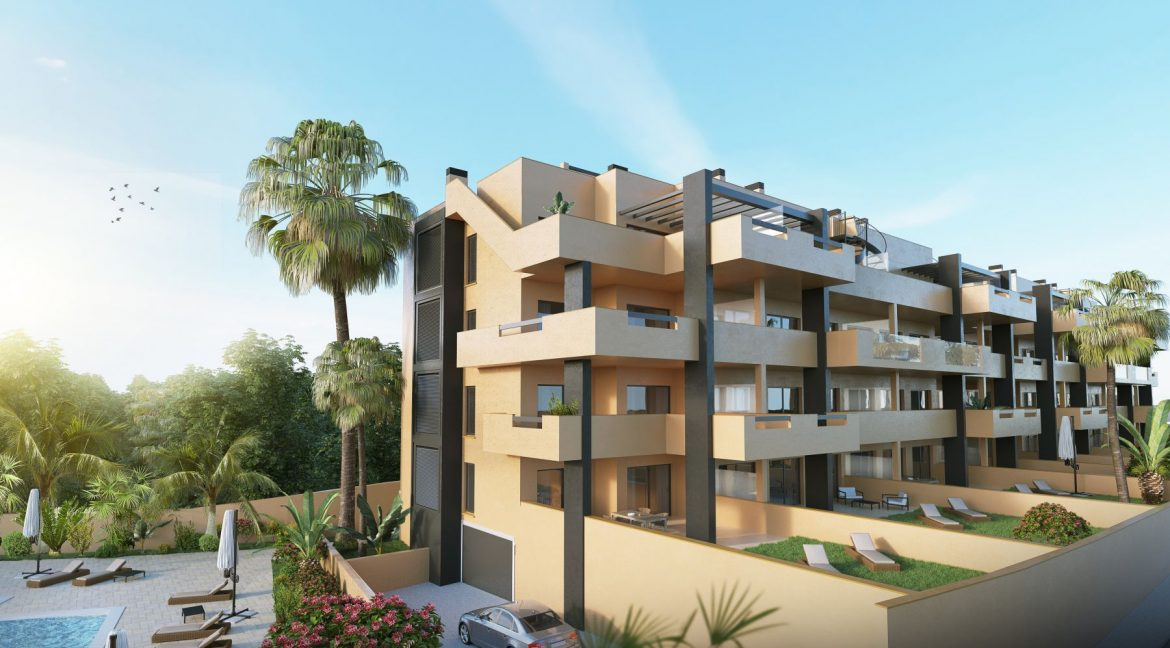 2 Bedrooms Apartments in Orihuela Costa with Private Garden or Solarium (24)