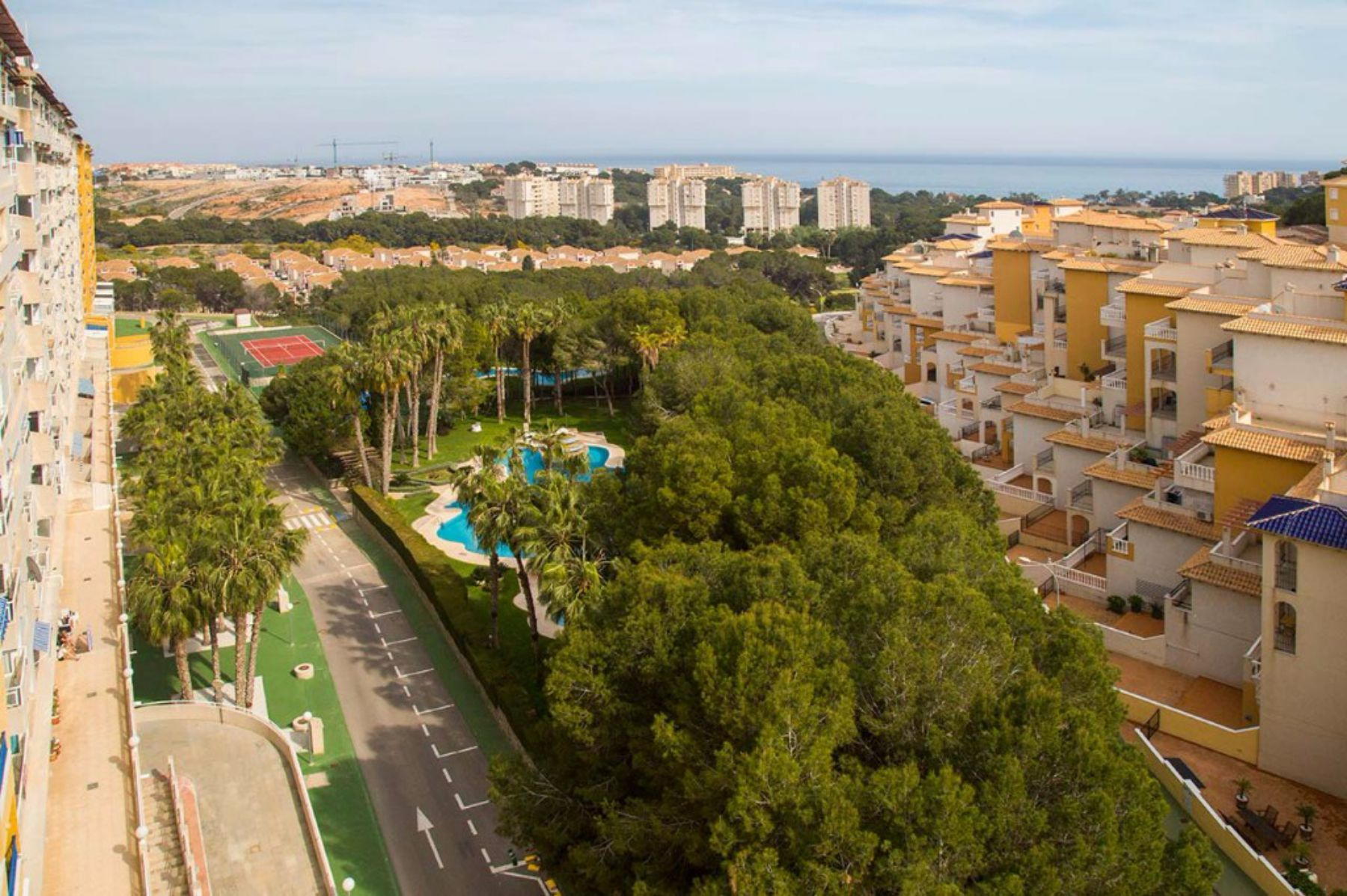 New Build 3, 2 or 1 Bedrooms Apartments For Sale with Sea Views in Campoamor