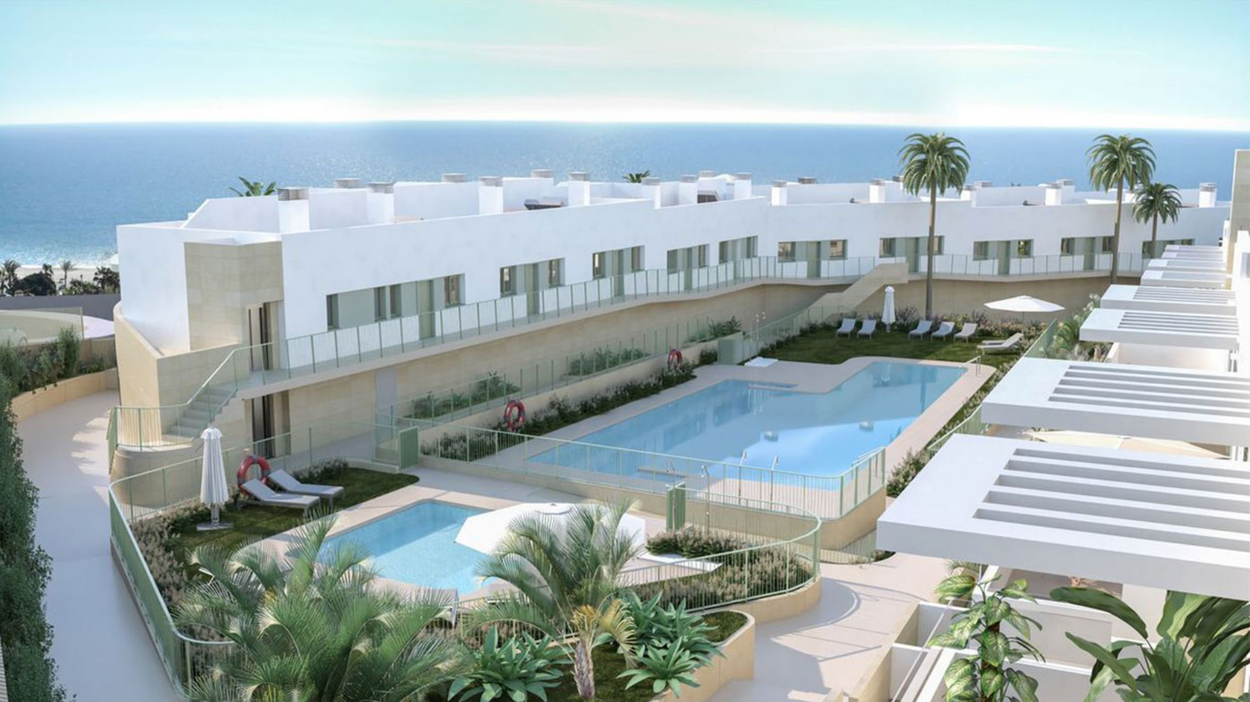 2 And 3 Bedrooms apartment by Mojacar Beach