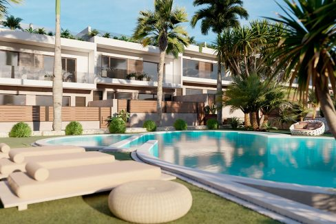 3 Bedrooms Townhouses For Sale in Torrevieja, Los Altos- Altos de la Laguna