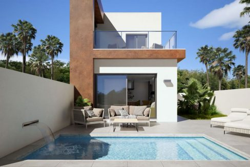 Detached 3 Bedrooms Villas with Private Pool For Sale in Daya Nueva (3)