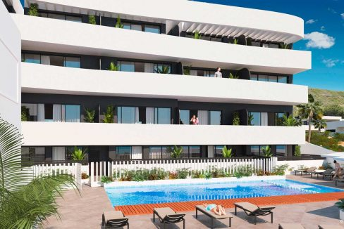 New Build 2 Bedrooms apartment for sale in Guardamar del Segura