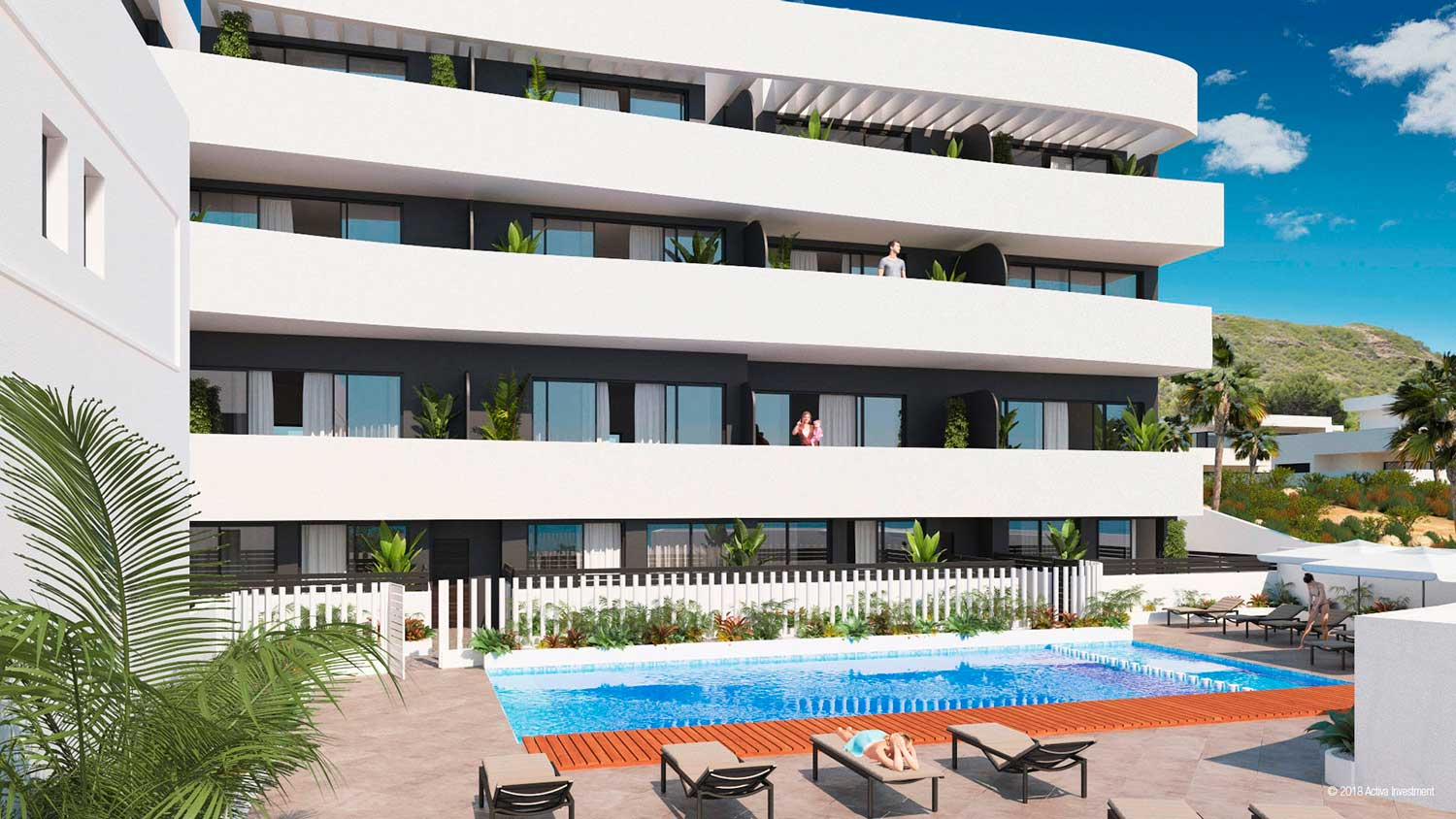 Elegant 2 Bedrooms New Build Apartments with Panoramic Sea Views in Guardamar