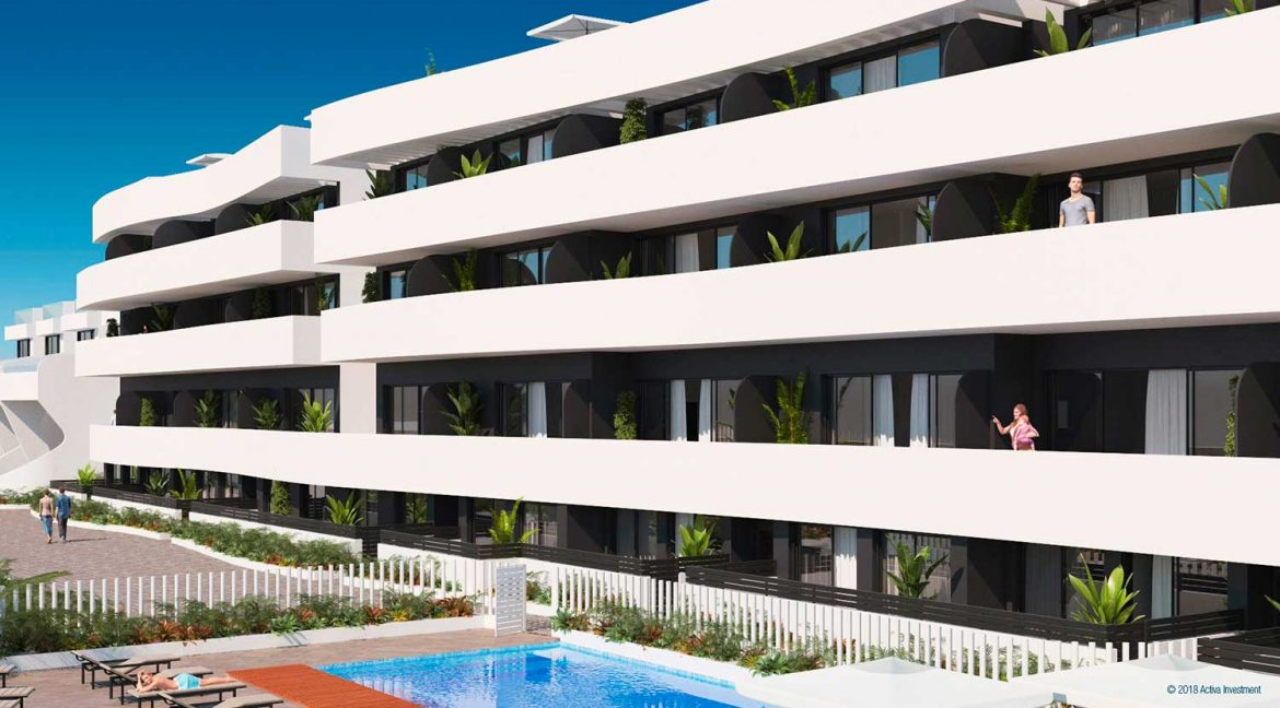 New Build 2 Bedrooms apartment for sale in Guardamar del Segura (4)