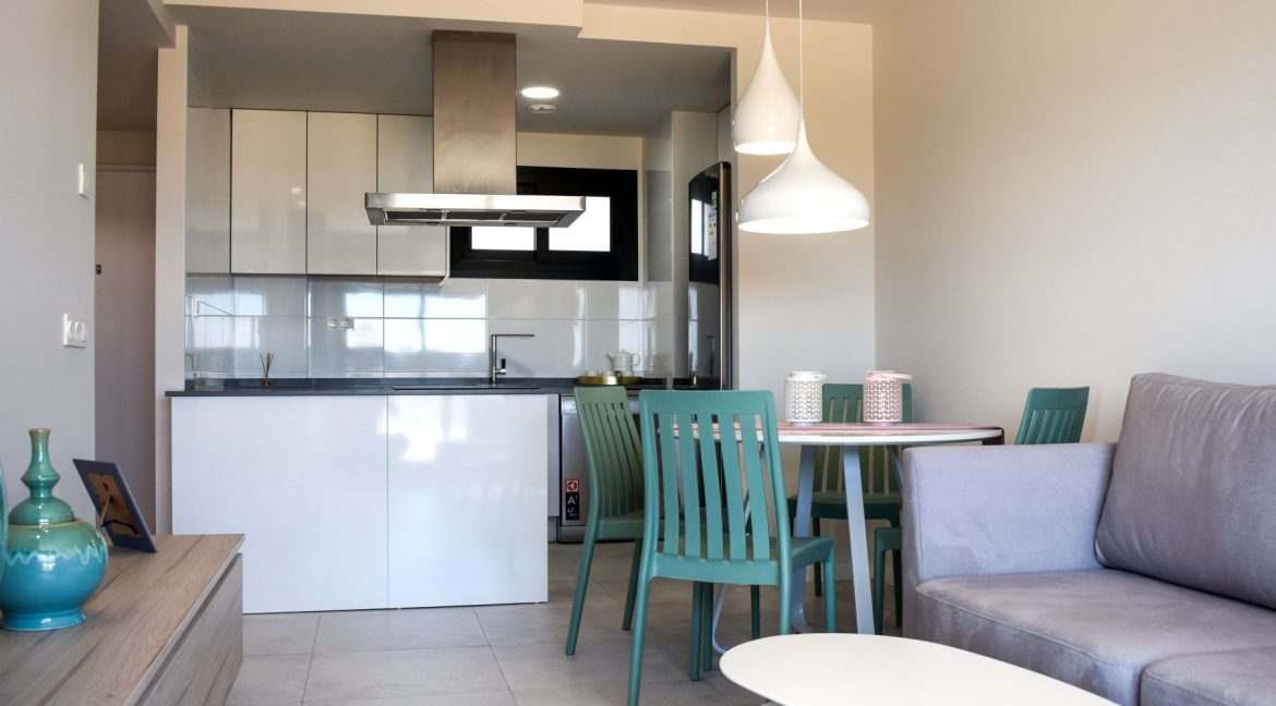 New Build Of 2 And 3 Bedrooms Apartments And Bungalows For Sale On Mil Palmeras Beach, Orihuela Costa (8)