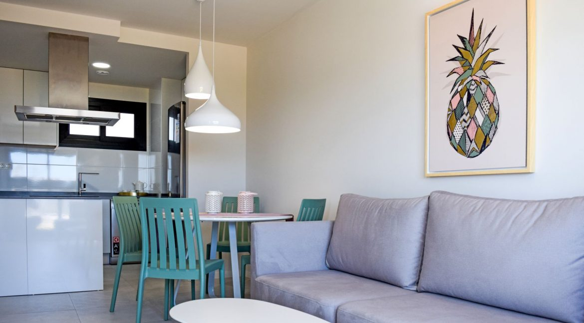 New Build Of 2 And 3 Bedrooms Apartments And Bungalows For Sale On Mil Palmeras Beach, Orihuela Costa (9)