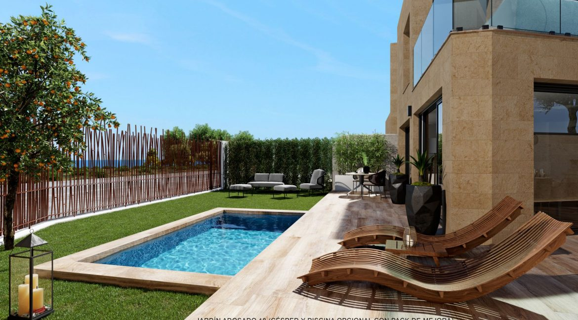 New Biuld in Villajoyosa Beach For Sale Townhouses and Apartmets 1 to 4 Bedrooms (40)