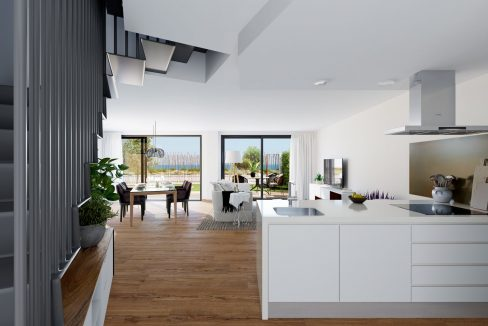 New Biuld in Villajoyosa Beach For Sale Townhouses and Apartmets 1 to 4 Bedrooms (41)