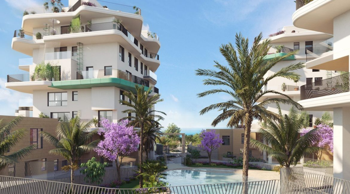New Biuld in Villajoyosa Beach For Sale Townhouses and Apartmets 1 to 4 Bedrooms (46)