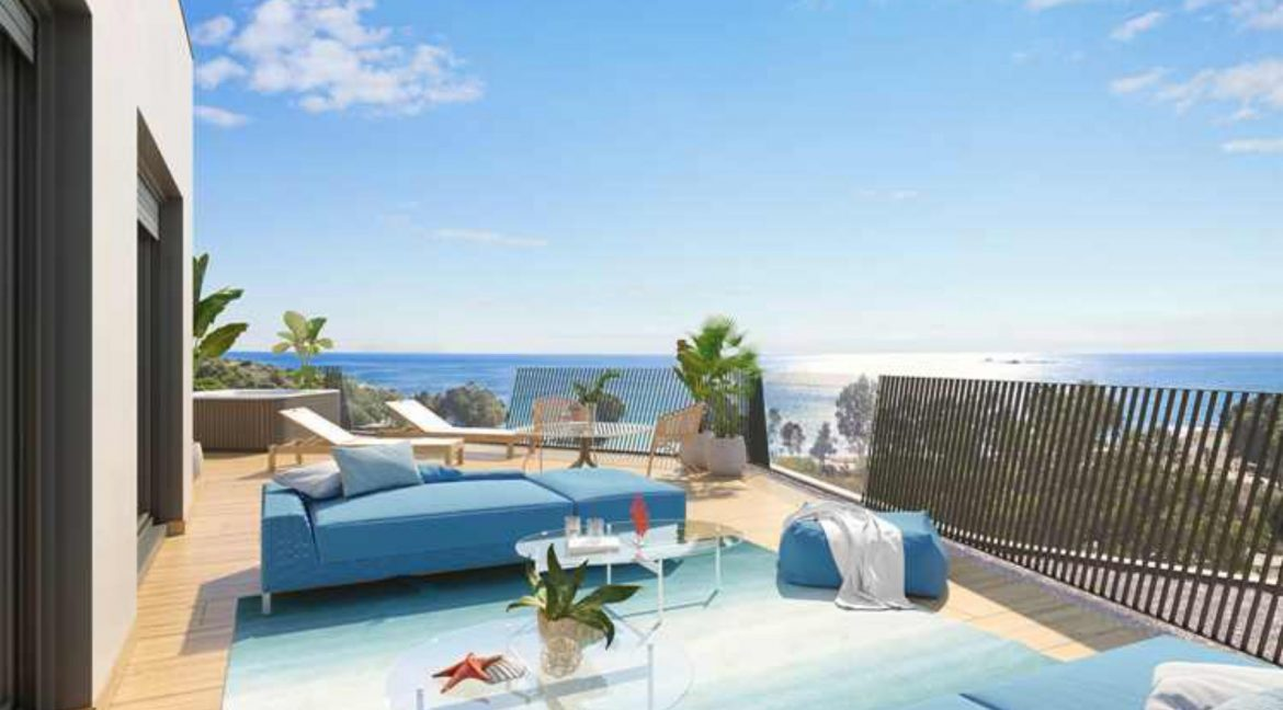 New Biuld in Villajoyosa Beach For Sale Townhouses and Apartmets 1 to 4 Bedrooms (68)