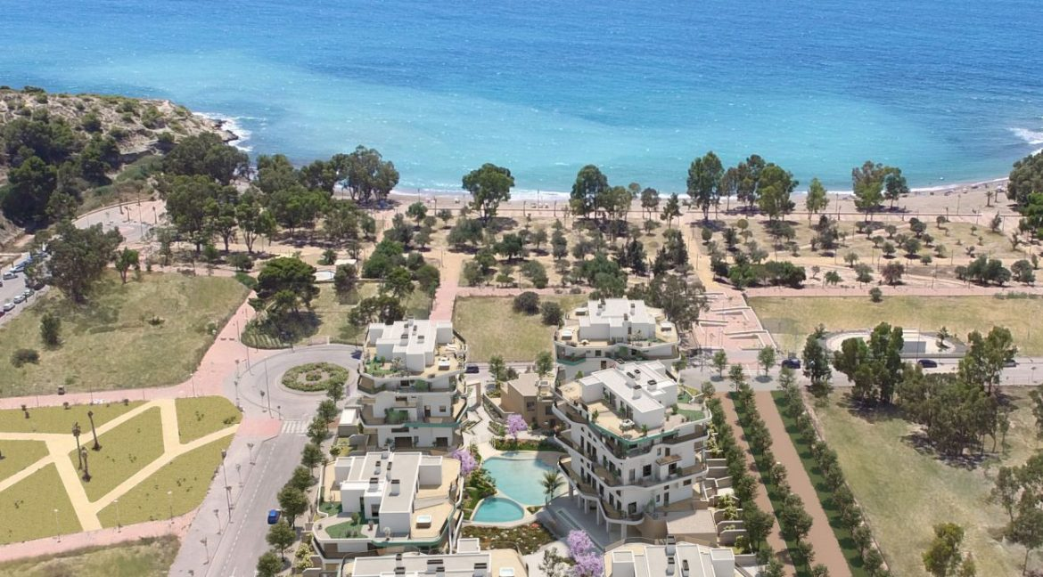 New Biuld in Villajoyosa Beach For Sale Townhouses and Apartmets 1 to 4 Bedrooms (75)