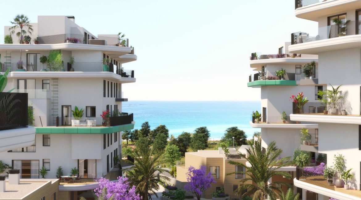 New Biuld in Villajoyosa Beach For Sale Townhouses and Apartmets 1 to 4 Bedrooms (81)