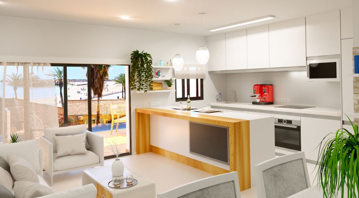 New Build 2 And 3 Bedrooms Apartment Just 60m From El Cura Beach Torrevieja (1)
