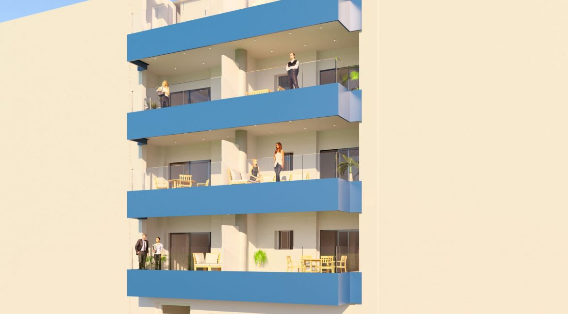 New Build 2 And 3 Bedrooms Apartment Just 60m From El Cura Beach Torrevieja (12)