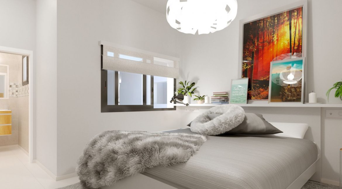 New Build 2 And 3 Bedrooms Apartment Just 60m From El Cura Beach Torrevieja (13)