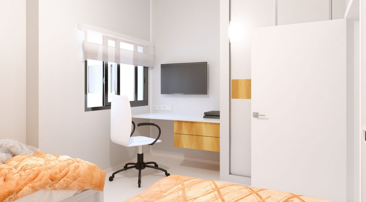 New Build 2 And 3 Bedrooms Apartment Just 60m From El Cura Beach Torrevieja (15)