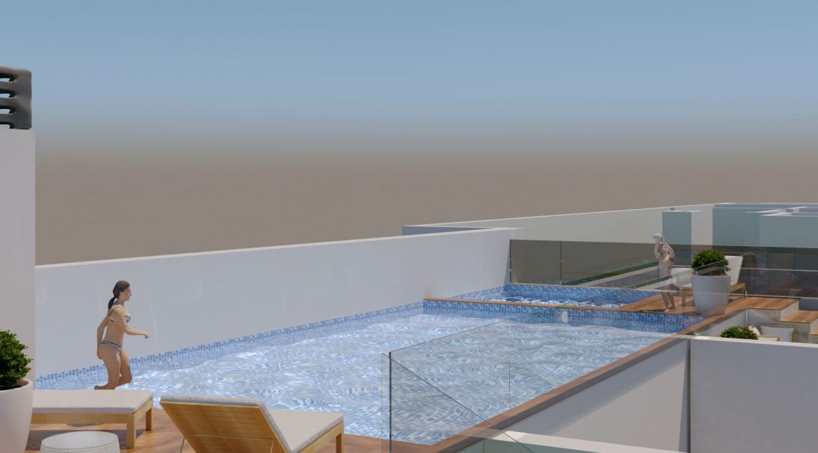 New Build 2 And 3 Bedrooms Apartment Just 60m From El Cura Beach Torrevieja (16)