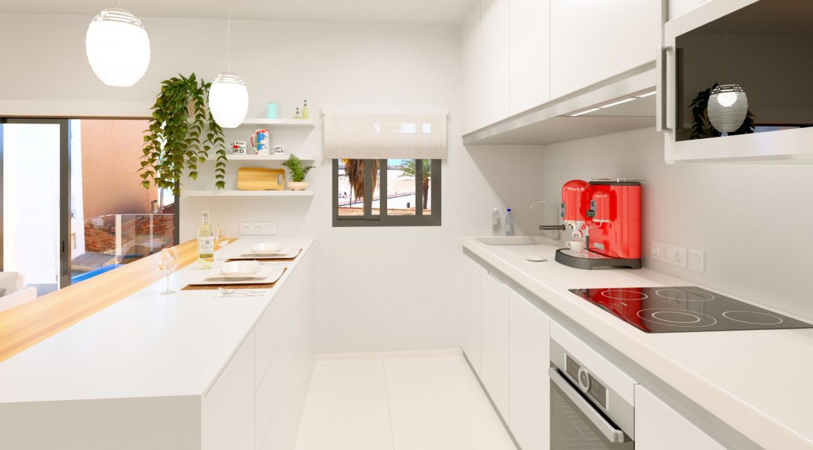 New Build 2 And 3 Bedrooms Apartment Just 60m From El Cura Beach Torrevieja (6)