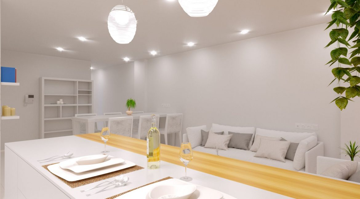 New Build 2 And 3 Bedrooms Apartment Just 60m From El Cura Beach Torrevieja (7)