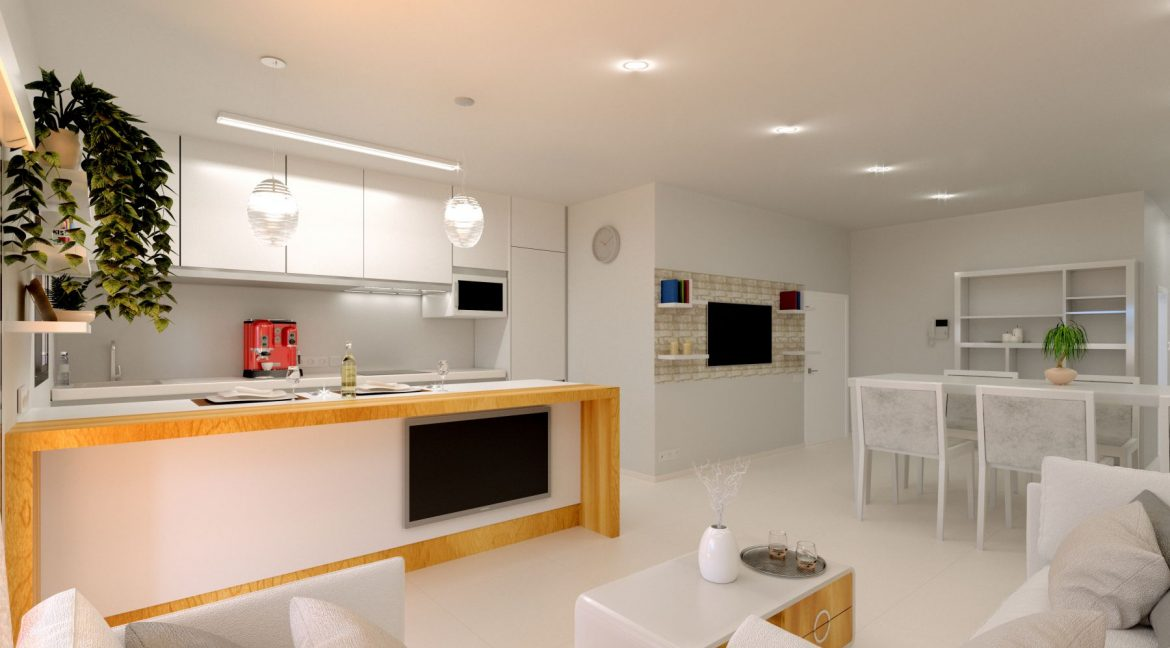 New Build 2 And 3 Bedrooms Apartment Just 60m From El Cura Beach Torrevieja (8)