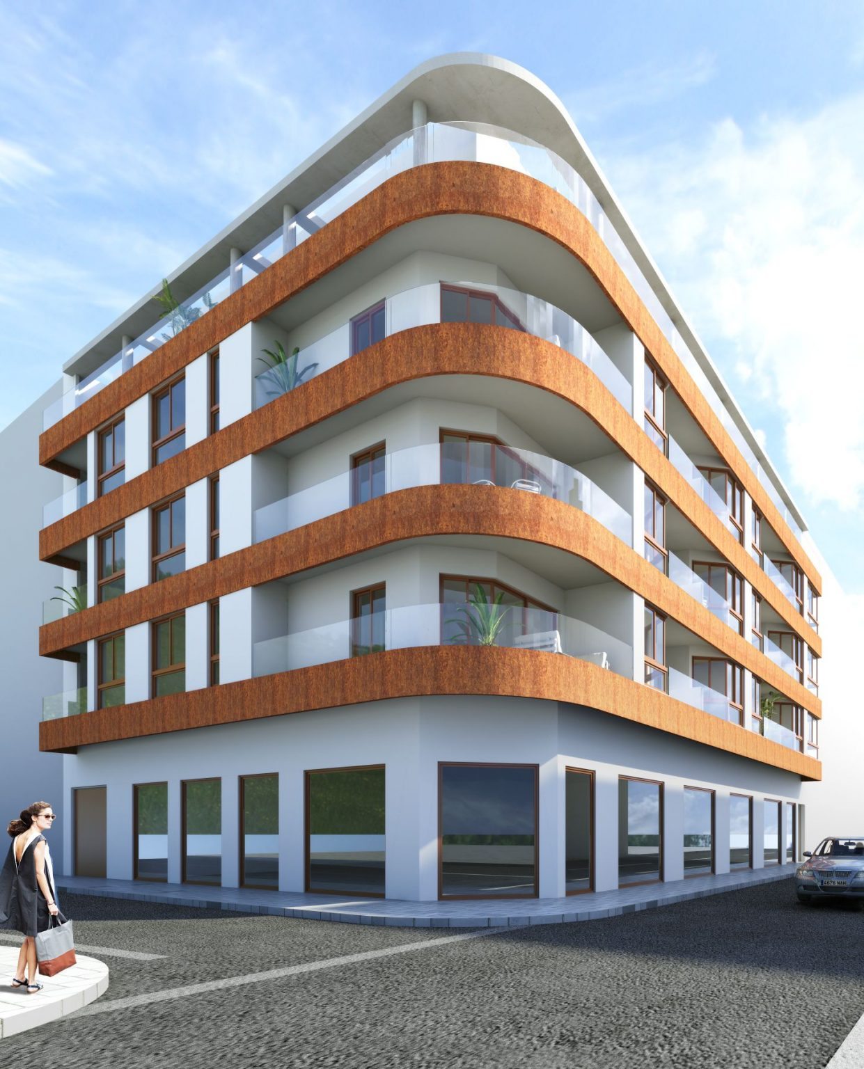 New Build 2 And 3 Bedrooms Apartments In Torrevieja By The Beach